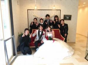 《智之様・実鈴様・アンヘルハート少人数結婚式》