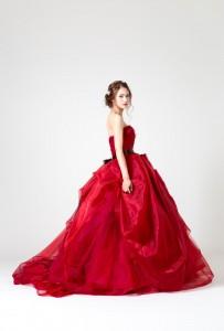 ~真っ赤なドレス~